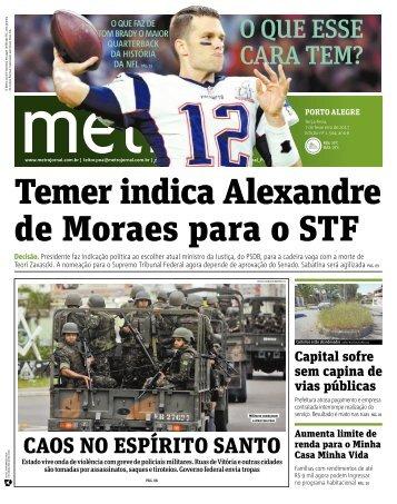 Temer indica Alexandre de Moraes para o STF