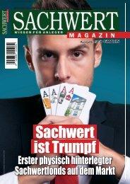 Sachwert Magazin Ausgabe 51 / Januar 2017