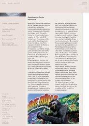 Ausgabe 1 - 01/2005 - Medienfonds - pards finanzcoaching GmbH