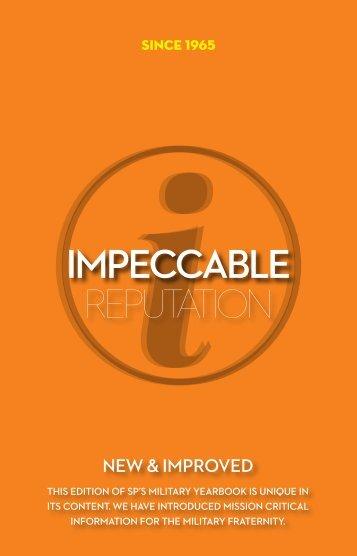 impeccable reputation