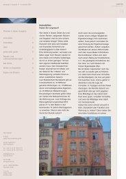 Ausgabe 11 - 11/2003 - Immobilien - pards finanzcoaching GmbH