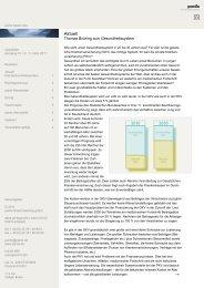 Ausgabe 1 - 03/2011 - Thomas Brüning zum Gesundheitssystem