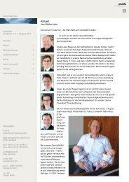 Ausgabe 1 - 08/2012 - Euro-Krise hin oder - pards finanzcoaching ...