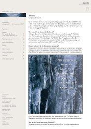 Ausgabe 6 - 12/2007 - Der pards Zinsfonds - pards finanzcoaching ...