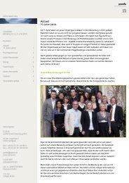 Ausgabe 2 -  05/2010 - 10 Jahre pards - pards finanzcoaching GmbH
