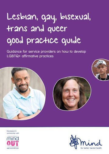 Lesbian gay bisexual trans and queer good practice guide