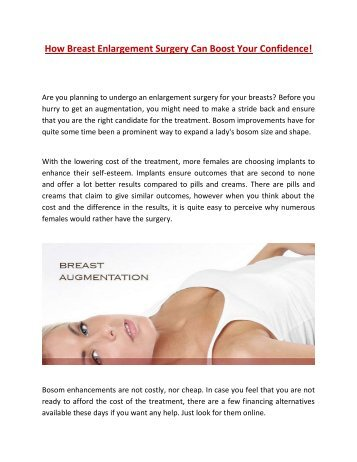 Breast augmentation cos