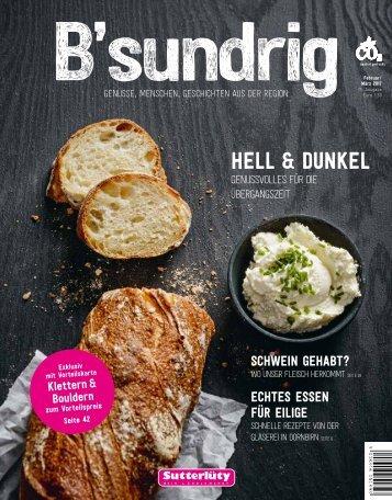 B'sundrig Magazin Februar/März 2017