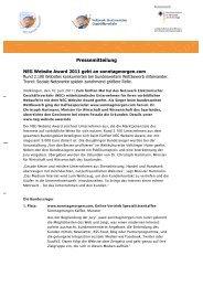Dokument runterladen - PresseBox