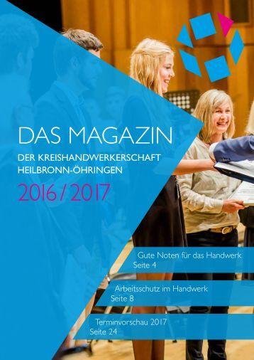 Das Magazin der Kreishandwerkschaft HN-ÖHR 2016/2017