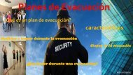 revista digital planes de evacuacion
