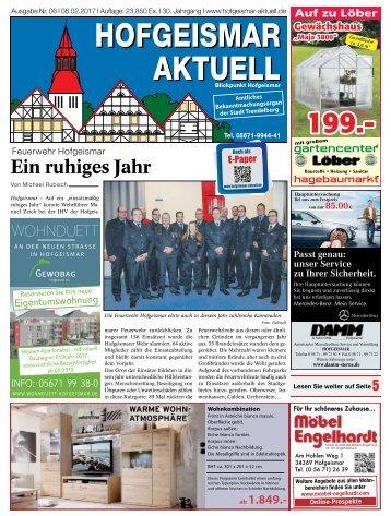 Hofgeismar Aktuell 2017 KW 06