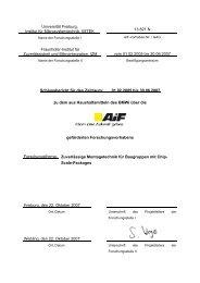 Schlussbericht für den Zeitraum: 01.02.2005 bis 30.06 ... - FreiDok