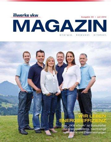 Illwerke VKW Magazin Ausgabe 30