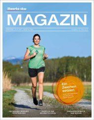 Illwerke VKW Magazin Ausgabe 33