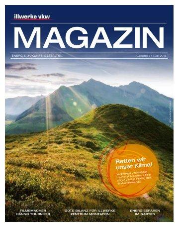 Illwerke VKW Magazin Ausgabe 34