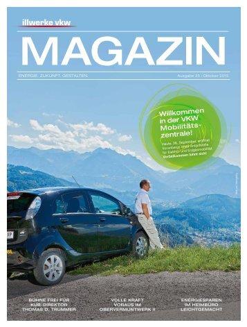 Illwerke VKW Magazin Ausgabe 35