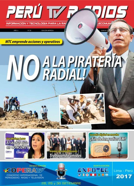 REVISTA PERÚ TV RADIOS Ene - Feb 2017