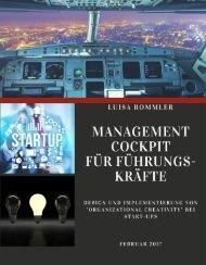 Management Cockpit für Führungskräfte bei Start-Ups