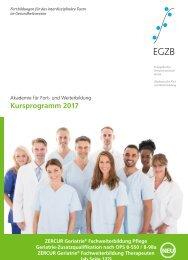 Kursprogramm EGZB 2017