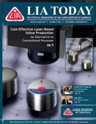Cost-Effective Laser-Based Inline Production