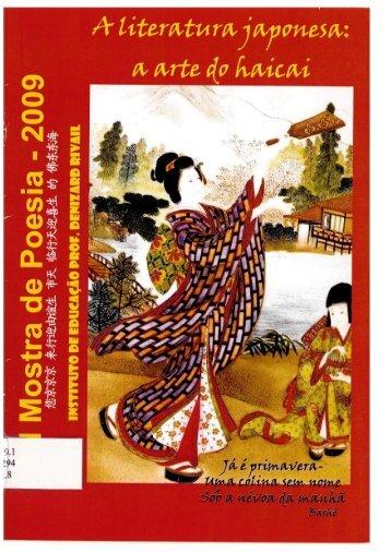 XIII Mostra de Poesia A literatura Japonesa