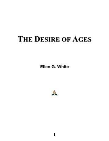 The Desire of Ages - Ellen G. White