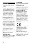 Sony HT-CT780 - HT-CT780 Istruzioni per l'uso Serbo - Page 2