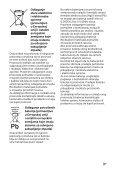 Sony HT-CT780 - HT-CT780 Istruzioni per l'uso Serbo - Page 3