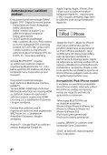 Sony HT-CT780 - HT-CT780 Istruzioni per l'uso Serbo - Page 4