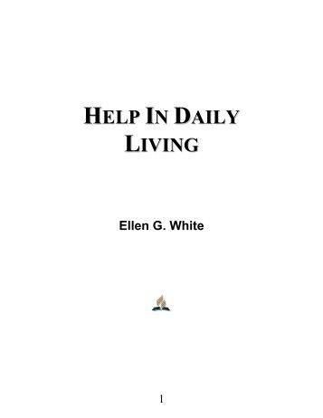 Help In Daily Living - Ellen G. White