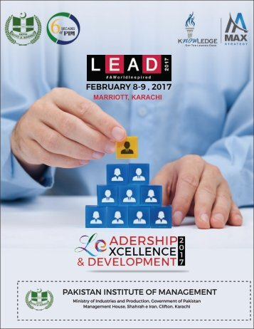 FEBRUARY 8-9  2017 PAKISTAN INSTITUTE OF MANAGEMENT