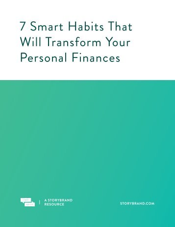 7 Smart Habits That Will Transform Your Personal Finances