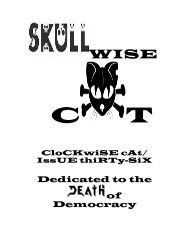 Skullwise Cat