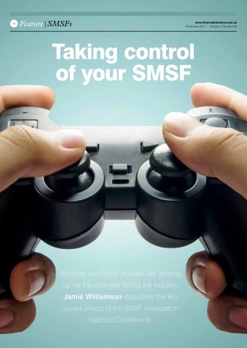 Taking control of your SMSF