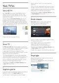 Philips 7000 series Téléviseur LED ultra-plat Smart TV Full HD - Mode d'emploi - TUR - Page 4