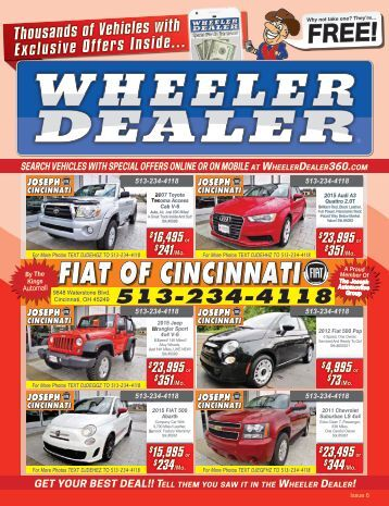 Wheeler Dealer Issue 06, 2017
