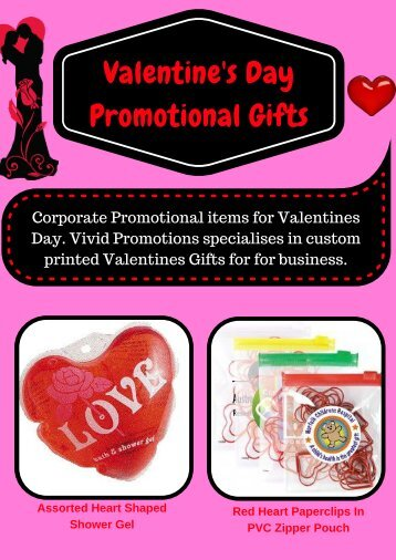 Custom Logo Valentine's Day Gifts | Vivid Promotions