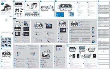 Philips Système audio M1X-DJ - Guide de mise en route - ESP