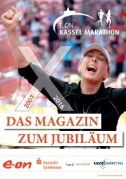 Magazin E.ON Kassel Marathon 2016