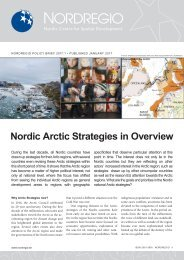 Nordic Arctic Strategies in Overview