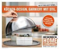 Küchen-Design, garniert mit Stil - Hesebeck Home Company