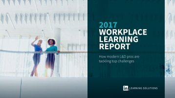 2017 Workplace Learning Report