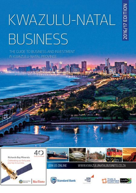 KwaZulu-Natal Business 2016-17 edition