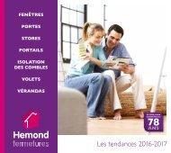 Catalogue HEMOND FERMETURES