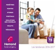 Catalogue HEMOND FERMETURES