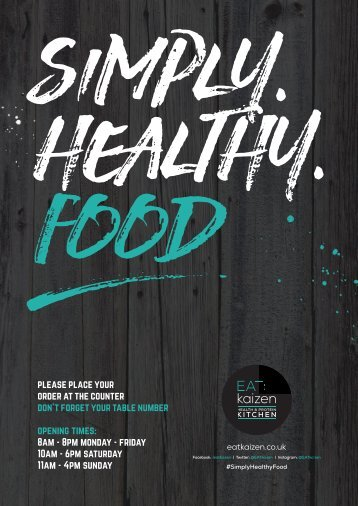 simply healthy food A