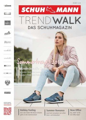 Schuh-Mann Schuhmagazin Trendwalk FS2017