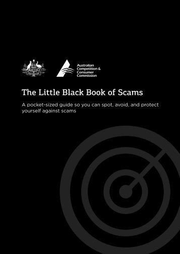 The Little Black Book of Scams