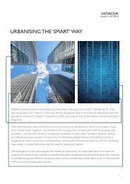 Urbanising the 'smart' way